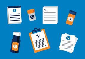 Vetores de prescrição gratuitos