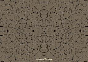 Textura de terra erosionada vetorial