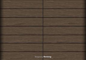 Fondo de tablones de madera de vector