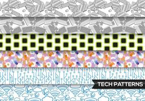 Technology Patterns Vector Free