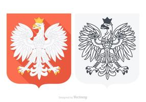 Free vector polish eagle