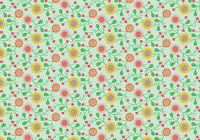 Blom- pastellmönster