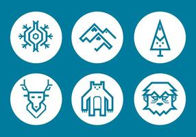 Yeti Vector Pictogram