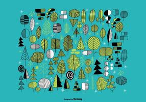 Hand Drawn Tree Vectors