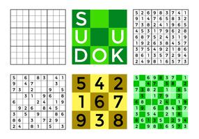 Vector de Sudoku grátis