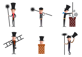 Gratis Chimney Sweep Vector