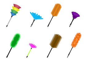 Gratis Feather Duster Vector