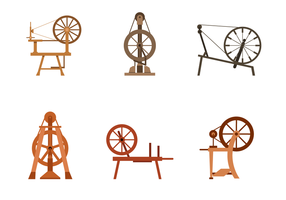 Gratis Spinning Wheel Vector