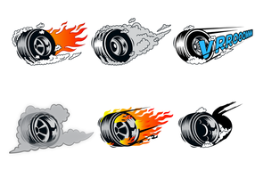 Free Burnout Vector