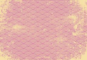 Pink Retro Grunge Background