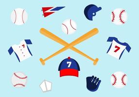Vecteurs gratuits de baseball
