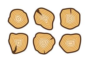 Free Tree Rings Vector Illustration #2