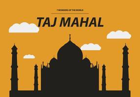 FREE TAJ MAHAL VECTOR