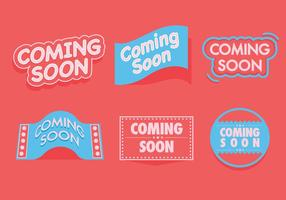 Coming Soon Vectors