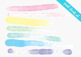 Paint Streak Colorful Watercolor Set