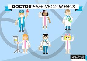 Médico Libre Vector Pack