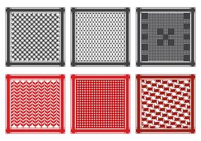 Free Keffiyeh Pattern Vektor