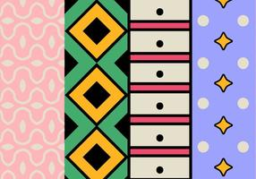 Geometrische Kleurrijk Patroon