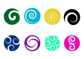 Gratis Koru Logo Vector