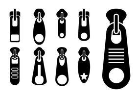 Zipper Pull Vektor