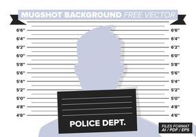 Mugshot Antecedentes Vector Libre
