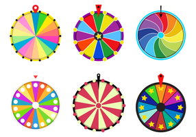 Free Spinning Wheel Vector