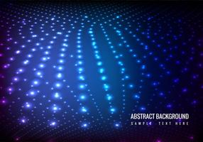 Vector Glowing Lights Background