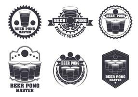 Bier Pong Label Vector Set
