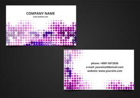 Free Vector Business Card Background