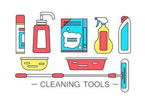 Prodotti per la pulizia di vettore