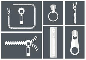 Free Zipper Vectors