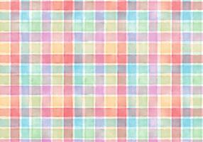 Gratuit Vector Watercolor Plaid Abstract Background