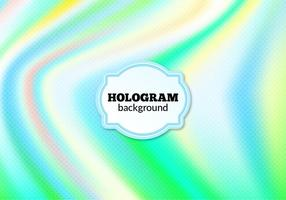 Free Vector Halftone Hologram Background