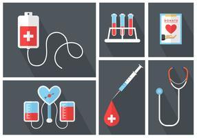 Iconos vectoriales médicos