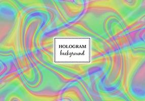 Vector libre de mármol verde holograma de fondo