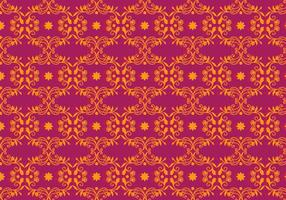 Vector Magenta Floral Background