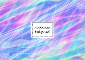 Free Vector Streaked Hologram Background