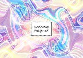 Fundo de holograma de mármore de luz vetorial livre