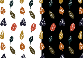 Leaf Pattern Vector gratuito