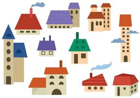 Vetores de edifícios livres