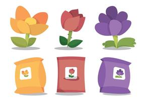 Carnation Vector Set