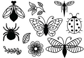 Free Ornamental Nature Vectors