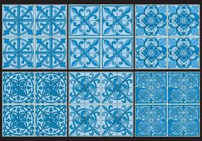 Azulejo Patterns vector