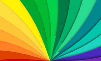 Fundo abstrato do arco-íris do vetor