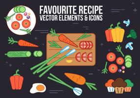 Free Recipe Vector Elements and Icons
