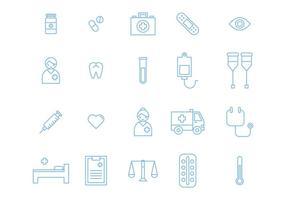 20 medizinische Ikonen