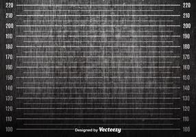 Vector Grunge Mugshot Achtergrond