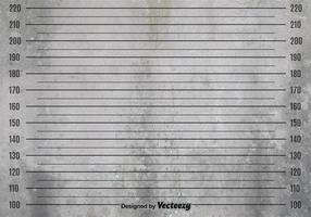 Vector Grunge Mugshot Background