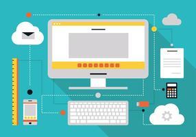 Best Vector Tech Cloud
