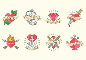 Gratis Mom Tattoo Vectors
